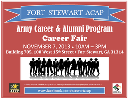 Fort Stewart ACAP Career Fair