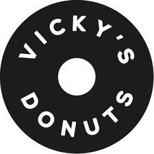Vicky's Donuts logo