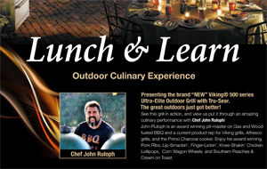 Lunch & Learn with Viking Appliances San Jose