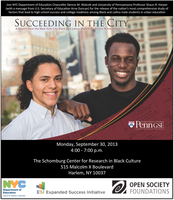 Succeeding in the City: NYC Black and Latino Male HS...