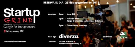 Startup Grind Monterrey Hosts Jorge Gonzalez (Sidengo...