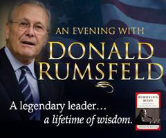 An Evening with Donald Rumsfeld-Talk 920, Jewelry...