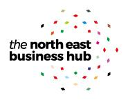 North East Business Hub logo