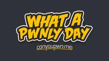 CANYOUPWNME logo