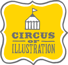 The Circus of Illustration logo