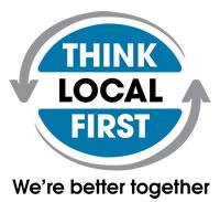 The Board of Think Local First logo