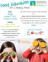 Food Education For A Healthy Mind! Seminar