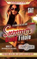 Saturday Sept 21: Summer Grand Finale Havana Club