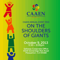 CAAEN Annual Event 2013: On The Shoulders Of Giants