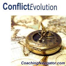 Conflict Evolution, A Program of Coaching Navigator logo
