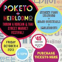 KOREAN + THAI STREET MARKET FESTIVAL