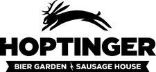Hoptinger Bier Garden & Sausage House logo