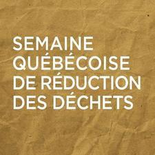 Semaine québécoise de réduction des déchets logo