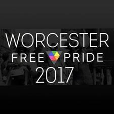 Worcester LGBT+ Pride logo