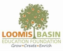 The Loomis Basin Education Foundation  logo