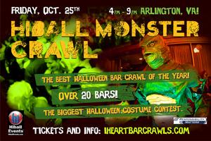 Halloween Monster Bar Crawl