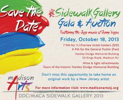 Sidewalk Gallery Gala & Auction!