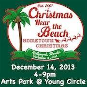Christmas Near the Beach logo