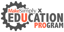 MakeSimply X Education Team logo