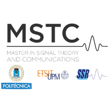 Master in Signal Theory and Communications logo