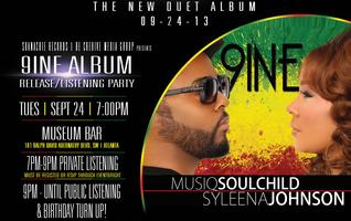 """9ine"" Album Release Party Atlanta"