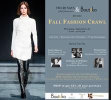 Heidi Says & Boutiika Present: Fall Fashion Crawl