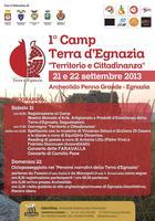 1° Camp Terra d'Egnazia - Territorio e Cittadinanza