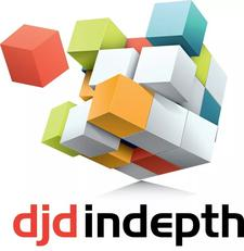 djd. InDepth Consulting Services  logo