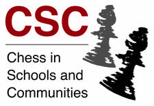 Chess in Schools and Communities logo