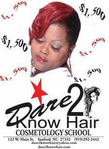 Dare 2 Know Hair Training Ctr. logo