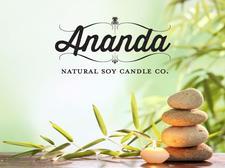 Ananda Natural Soy Candle Company logo