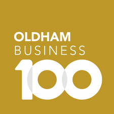 Oldham Business 100 logo