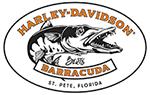 Bert's Barracuda Harley-Davidson logo