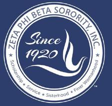 Zeta Phi Beta Sorority, Inc. Tau Theta Zeta chapter logo