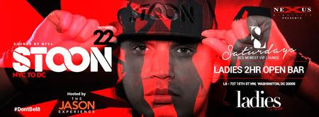 NYC's DJ Stoon at L8 Lounge | Ladies 2hr Open Bar