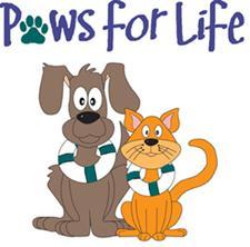 Paws for Life Rescue logo