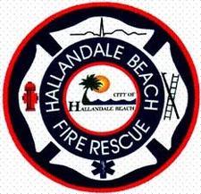 Hallandale Beach Fire Rescue  logo