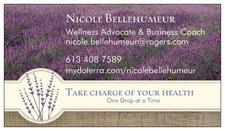 Nicole Bellehumeur, Natural Health Solutions logo