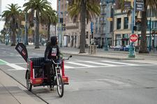 Cabrio Taxi Pedicabs logo