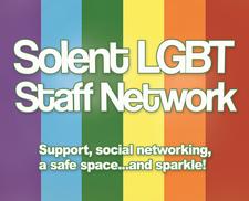 Southampton Solent University LGBT+ Staff Network logo