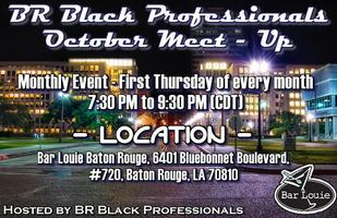 BR Black Professionals October Monthly Meet-Up