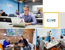 cove: coworking and event space logo