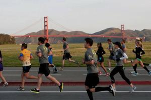 GG Bridge Run with Sports Basement and Half Moon Bay In...