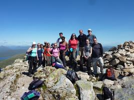 Hillwalking Group - Ben Venue, The Trossachs - Loch Katrine