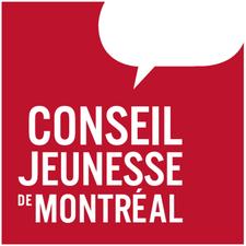 Conseil jeunesse de Montréal logo