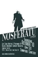 NOSFERATU Live Score Screening at Sunnyside Cemetery