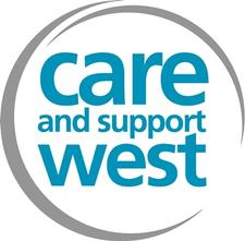 Care and Support West logo
