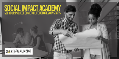 Social Impact Academy - Calgary Oct 27 & Nov 10th
