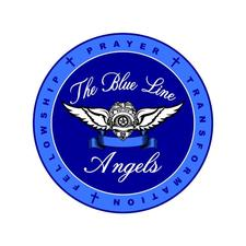 The Blue Line Angels logo