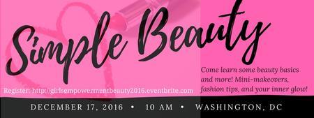 GIRLS Empowerment Seminar Series: Simple Beauty